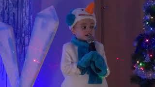 Новый год в частном детском саду Mini Bambini / Олаф, танцы, песни, веселье!