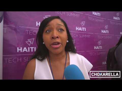 Interview with  Lisa Godwin @ Haiti Tech Summit 2017