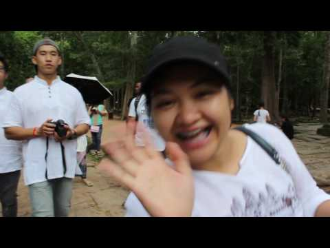 First Ever Travel Vlog, Siem Reap 2017 with the crew