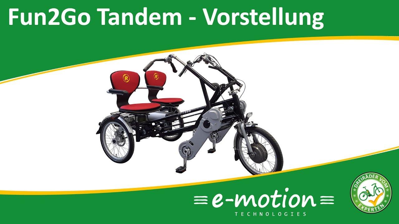 Spezialdreiräder   Dreiräder für Erwachsene bei den e motion