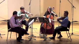 Alexander Borodin - String Quartet No. 2 in D Major - I. Allegro moderato (Kontras Quartet)