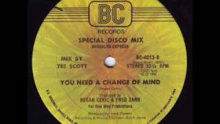 Brooklyn Express - You need a change of mind (1982)