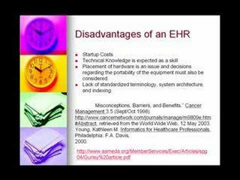 Benefits Of The Electronic Health Record Ehr