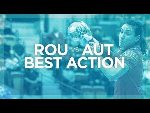 Cristina Neagu is back with a bang | Romania vs Austria | Women's EHF EURO 2018
