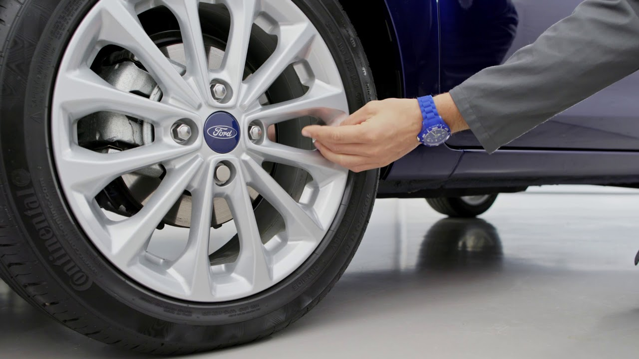 How To Adjust Your Tyre Pressure Ford Uk