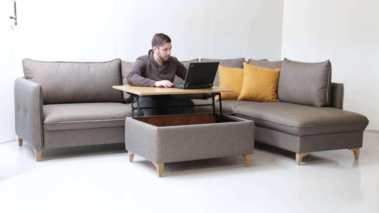 Кресло кровать пуф - YouTube
