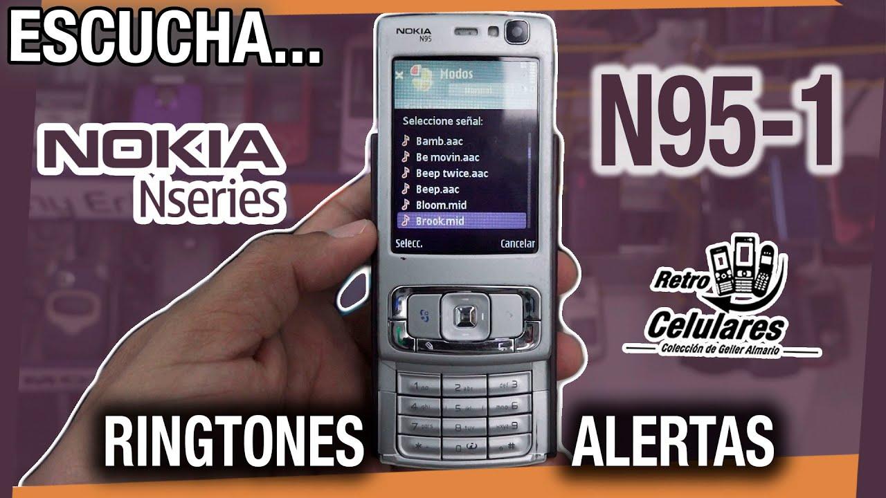 Escucha los RINGTONES del NOKIA N95-1 Retro Celulares 4k