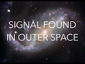 Strange signal received from deep space - who sent it?