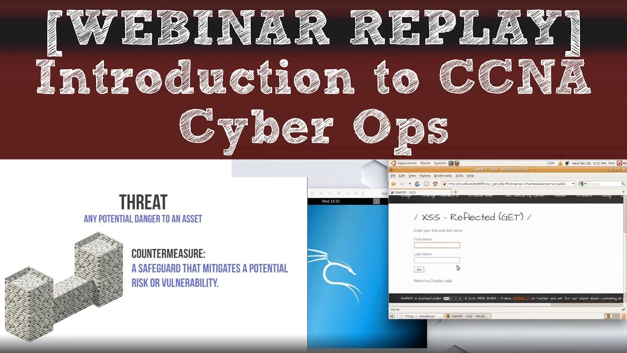 [WEBINAR REPLAY] Introduction to CCNA Cyber Ops