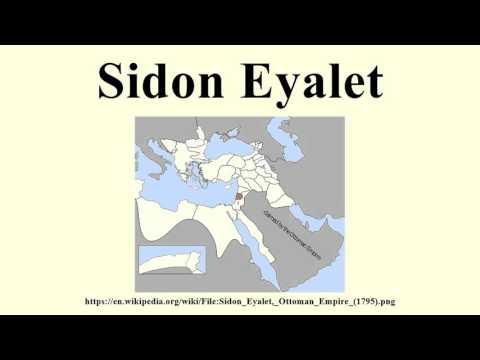 Sidon Eyalet