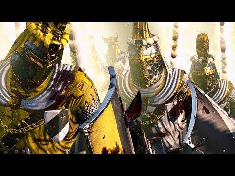 Greenskin Versus Breatonnia - Massive Battle Total War Warhammer |