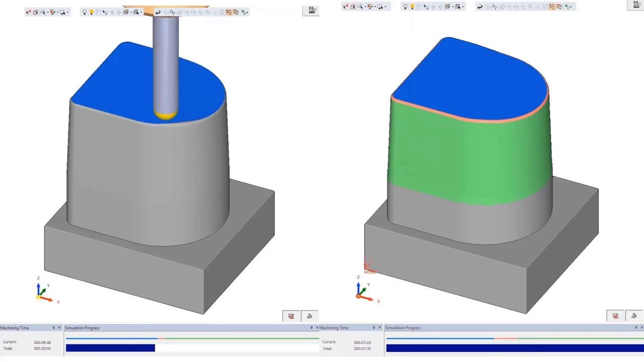 Cimatron NC Using Barrel Tools