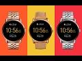 default - Fossil Q Wander Gen 2 Touchscreen Rose Gold-Tone Stainless Steel Smartwatch