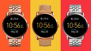 Unboxing Fossil Q Wander Smartwatch