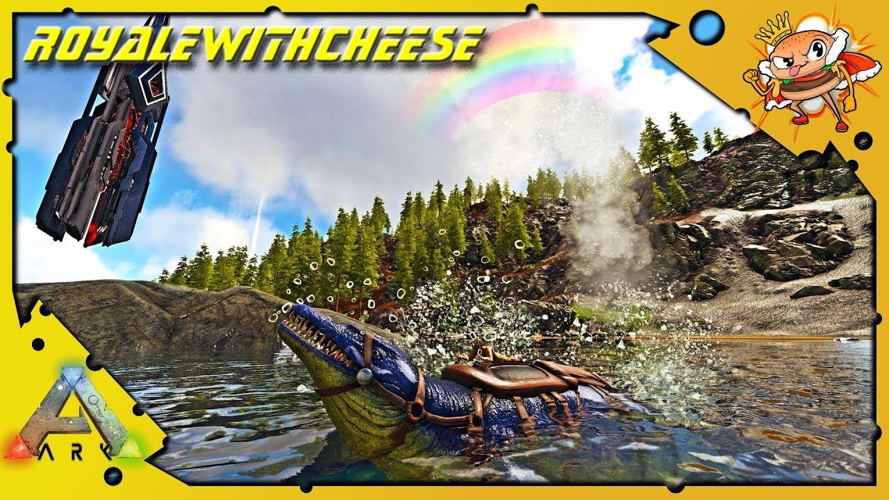 How To Tame A Basilosaurus! Best Water Pen Location Ragnarok! - Ark