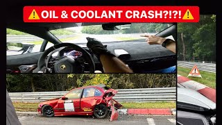 Oil & coolant crash! How can you prevent it? Nürburgring Nordschleife