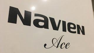 видео газовый котел Навьен