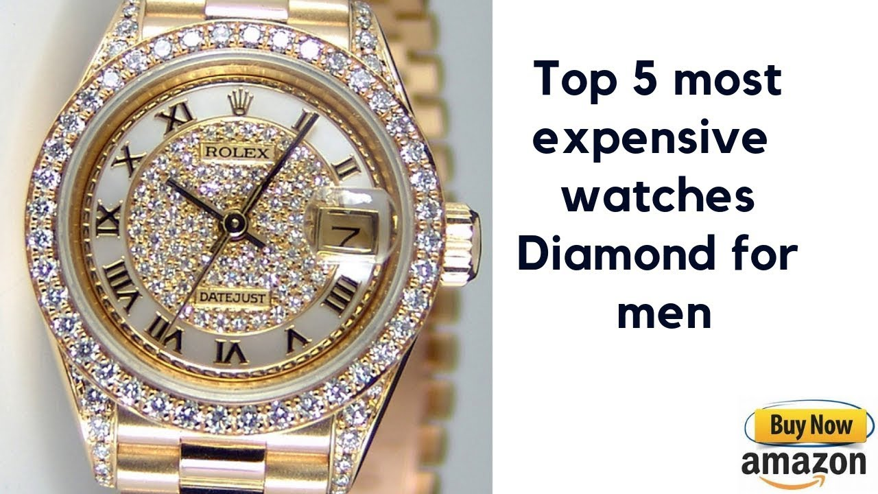 664b1c923fbd Top 5 most expensive watches Diamond for men