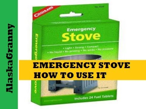 Emergency Stove By Coghlan Product Review