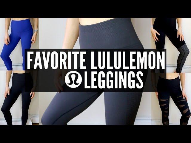2627167c6 Favorite Lululemon Leggings - YouTube