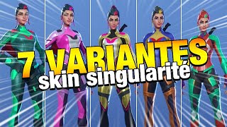 THE 7 VARIANTS OF NEW SKIN THE SAISON 9 FORTNITE
