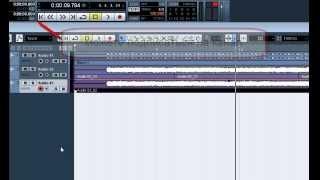 Запись электрогитары в Cubase 5. Часть 2(Предыдущее видео http://youtu.be/f-fYYKzsoZU (желательно посмотреть сначала его, если вы ещё не знаете как записывать)..., 2012-10-07T01:58:13.000Z)