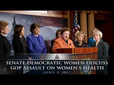 Senate Democratic Women Discuss GOP Assault On Women