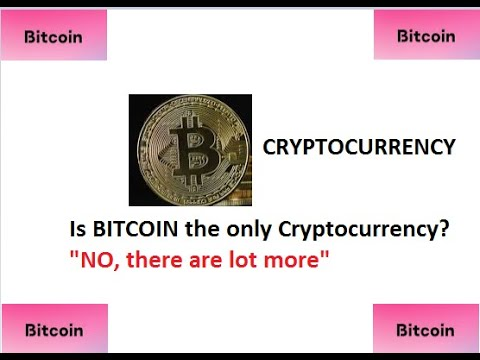 Is bitcoin the only cryptocurrency