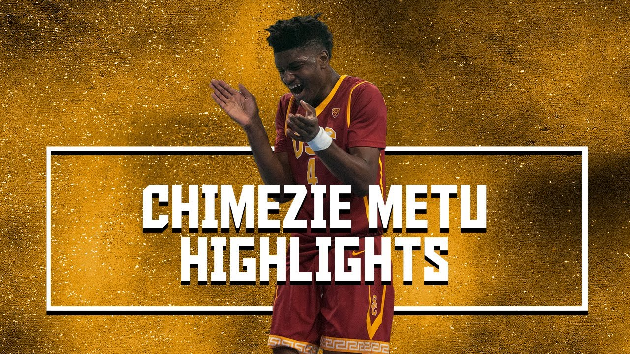 aaafbe3c1dd Chimezie Metu Official Sophomore Year Highlights    14.8 PPG