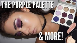 *NEW* Kylie Cosmetics PURPLE PALETTE & Fall First Impressions
