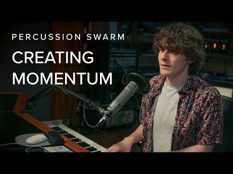How to Create Momentum with Percussion Swarm
