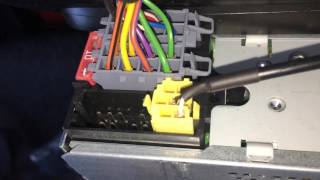 How to fit an aux cable Fiat Doblo Cargo