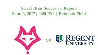 Sweet Briar Soccer vs. Regent