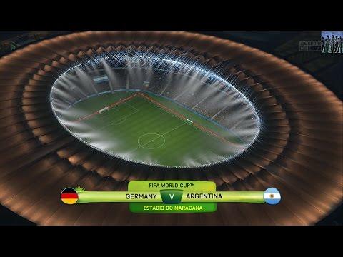 2014 FIFA World Cup Brazil (FIFA 14) - Final - Germany Vs. Argentina