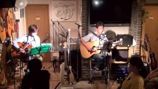 13年6月22日(土)ミディアムレアライブより♪ 山本ギター&マスター とん...
