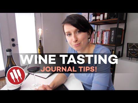 Wine Journal Tips (Taste Like a Pro)