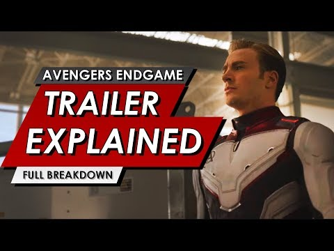 Avengers: Endgame Official Trailer Explained #2 | Everything You Missed | NEW MCU MARVEL STUDIOS