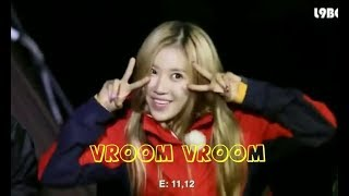 크레용팝 Crayon Pop - Vroom Vroom [Fanmade Video]