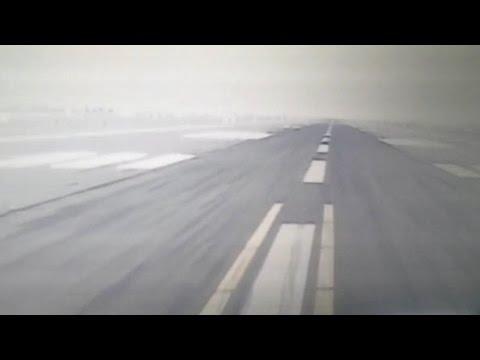 Emirates 777-300ER Front Camera Takeoff in Dubai Intl.