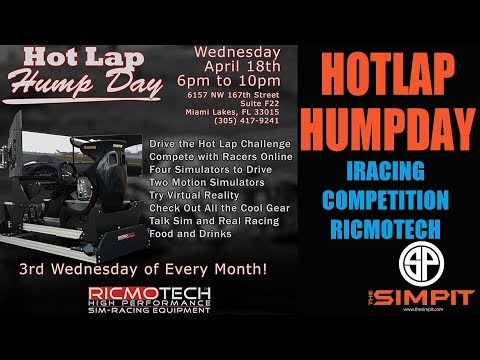 Hot lap Hump day - Ricmotech and The Simpit - iRacing