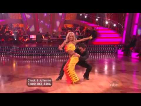 Chuck Wicks & Julianne Hough  Salsa