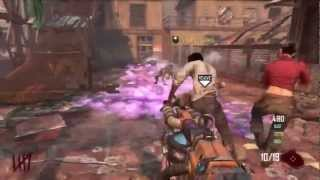 Black Ops 2 Zombies - Die Rise - Building The Navcard Table - 2nd Bus Route (bo2 Easter Egg)