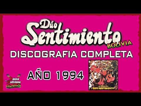 """MÚSICA BOLIVIANA - DUO SENTIMIENTO, ALBUM - LO MEJOR DE DUO SENTIMIENTO """"DISCOGRAFIA COMPLETA"""" AÑO 1994"""