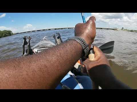 Yak Fishing Cedar Key FL.
