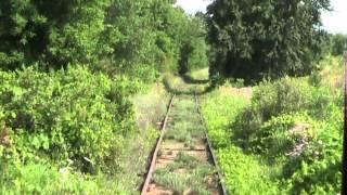 Southern Michigan RR excursion train ride - Clinton to Tecumseh, MI