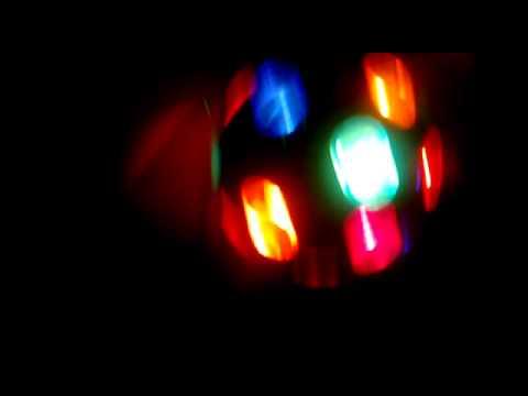 Luci Da Discoteca Fai Da Te.Luci Da Discoteca Pre Festa Disco Lights Youtube
