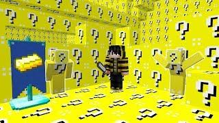 GÖRÜNMEYEN ŞANS BLOĞU OLDUM! - Minecraft SAKLAMBAÇ