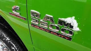 2018 Ram 3500 Cummins Diesel 6 speed manual 4x4 for sale at Canmore Chrysler 4036785881