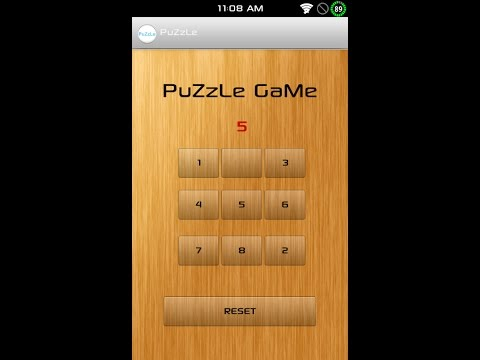 Puzzle Android Game PROJECT BCA,MCA,BTECH CS PROJECT