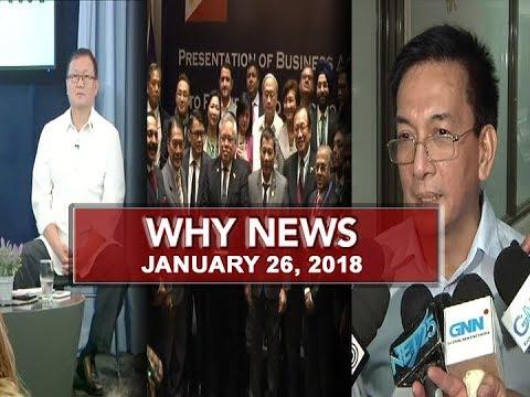 UNTV: Why News (January 26, 2018)